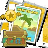 Poptropica Game Card items