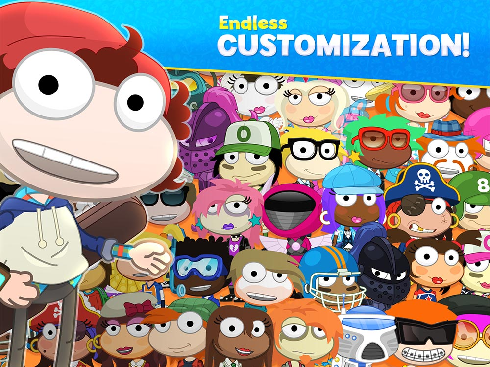 ENDLESS AVATAR CUSTOMIZATION: