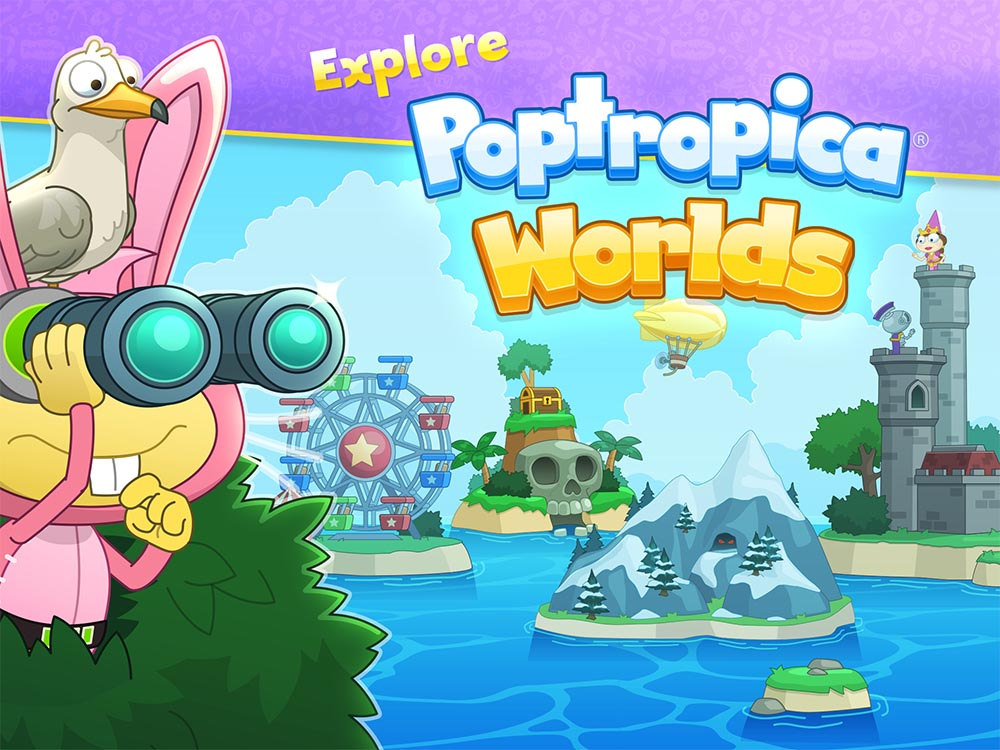 Explore Poptropica Worlds