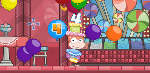 Poptropica's Fourth Birthday
