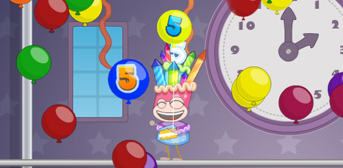 Poptropica's Fifth Birthday