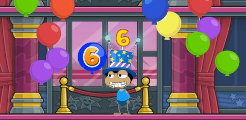 Poptropica's Sixth Birthday