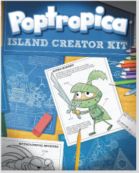 Poptropica Island Creator Kit Book Cover