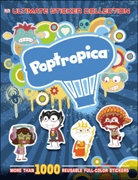 Poptropica Sticker Book Book Cover
