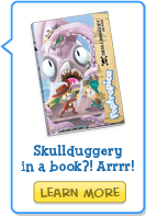 Skullduggery in a book? Learn More