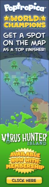 Virus Hunter Island Map