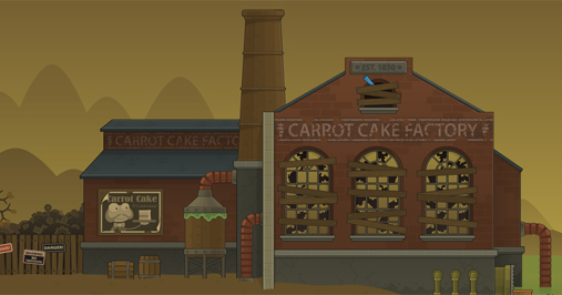 24 Carrot Island Carrot Cake Factory