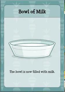 Poptropica 24 Carrot Island Milk Bowl