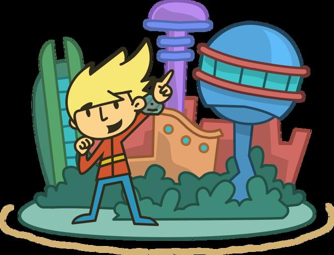 Poptropica Galactic Hot Dogs Island