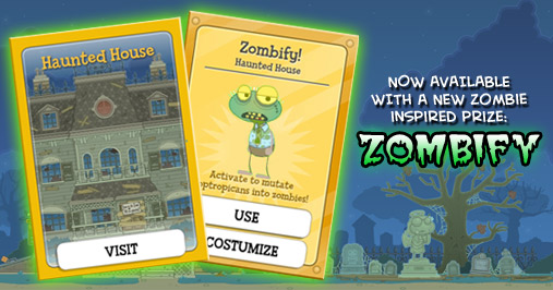 Haunted House Zombie Prize