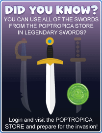 Legendary Swords Poptropica Swords