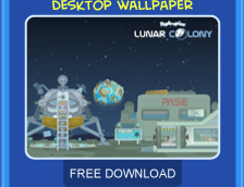Lunar Colony free wallpaper download