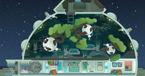 Lunar Colony Space Station