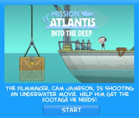 Poptropica Mission Atlantis Island