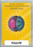 Mission 3 Atlantis Members Only Item and Card