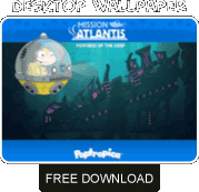 Mission Atlantis2 free wallpaper download
