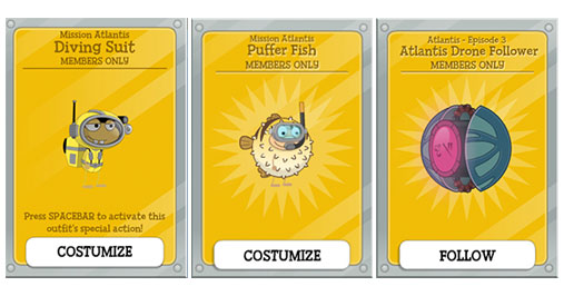 Mission Atlantis Member Cards