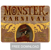 Monster Carnival Island free poster download