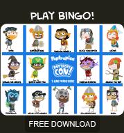Free Poptropicon Poptropicon 3 Bingo Sheet