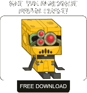Free Poptropicon Henchbot Paper Craft