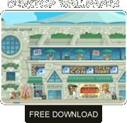 Poptropicon free wallpaper download