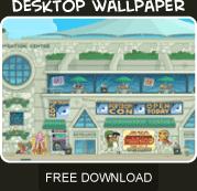 Poptropicon free wallpaper download