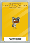 PoptropiCon 1 Members Only Lunar Colony Costume Item