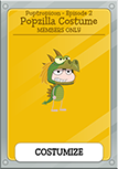 PoptropiCon 2 Members Only Popzilla Costume Item
