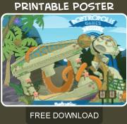 Poptropolis Games Island free Poster