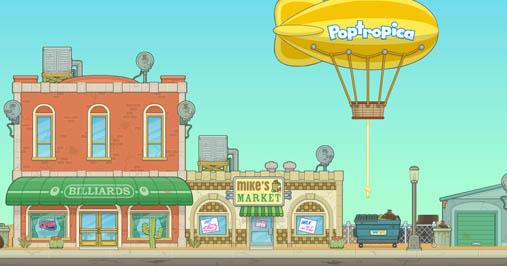 Reality TV Island main street