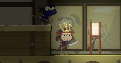Red Dragon Island - ninja stealth