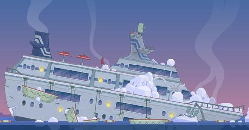 S.O.S. Island cruise boat