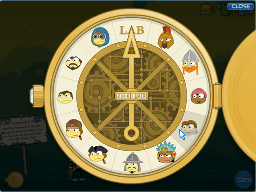 Poptropica Time Tangled Device