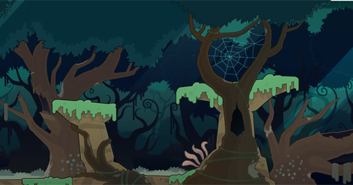 Twisted Thicket Island Troll Hill