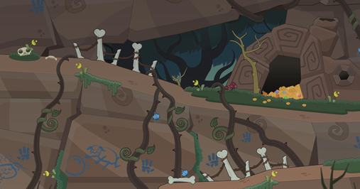 Twisted Thicket Island Dryad Hallow