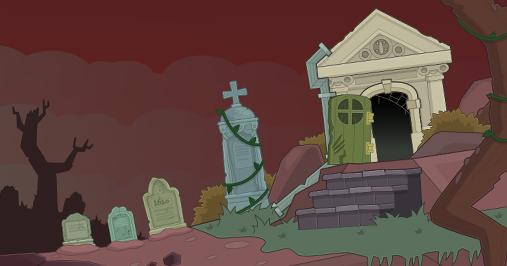 Vampire's Curse Cemetary