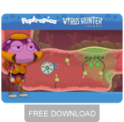 Virus Hunter Island free wallpaper download