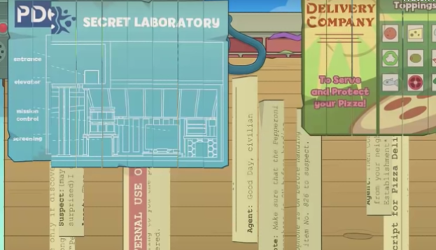 Poptropica Virus Hunter Map