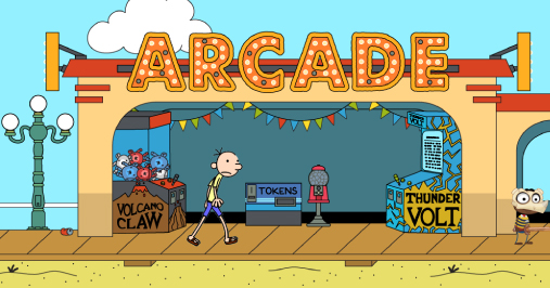Wimpy Kid Boardwalk Aracade