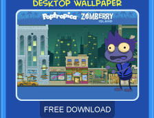 Zomberry Island free wallpaper download