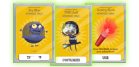 Zomberry Island Members Only Items and Cards