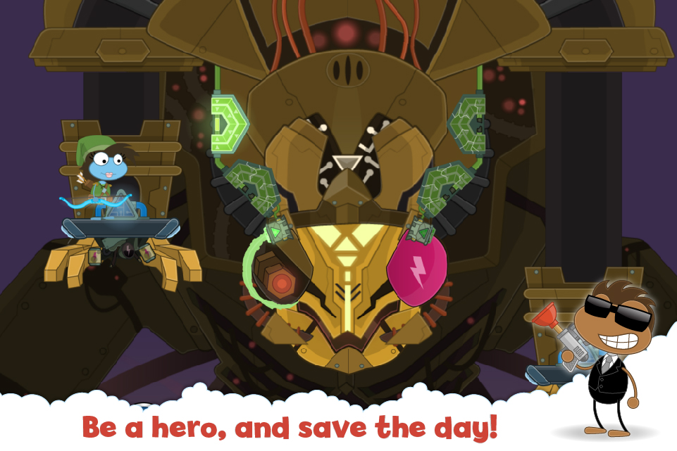 Be a hero, and save the day!