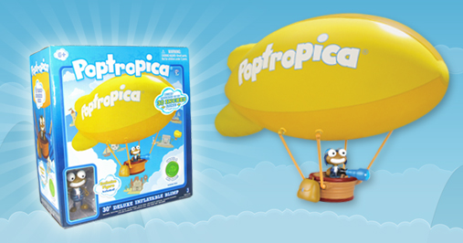 Poptropica Blimp Toy