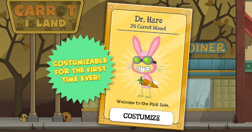 Dr. Hare Poptropica Card